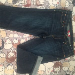 Lucky Brand crop jeans size 12